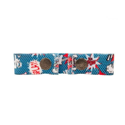 Dapper Snapper Toddler Belt - Comic Book Pattern - Child Size from 9mo - 8yrs